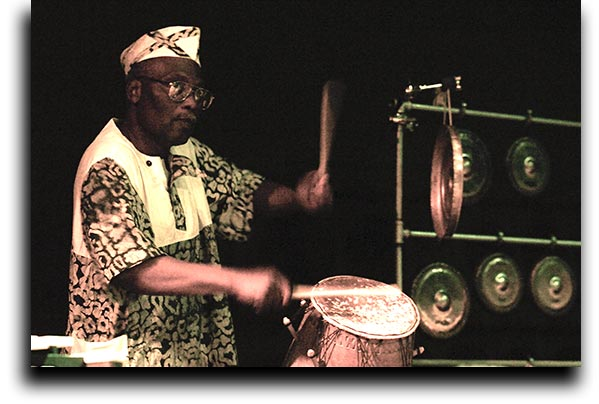 Master Drummer Alfred Ladzekpo with Go Organic Orchestra